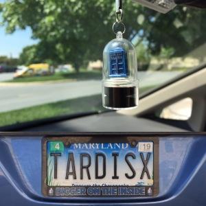 TARDIS contest car
