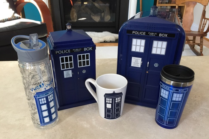 TARDIS contest food