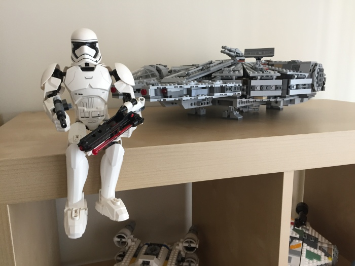 Lego stormtrooper front