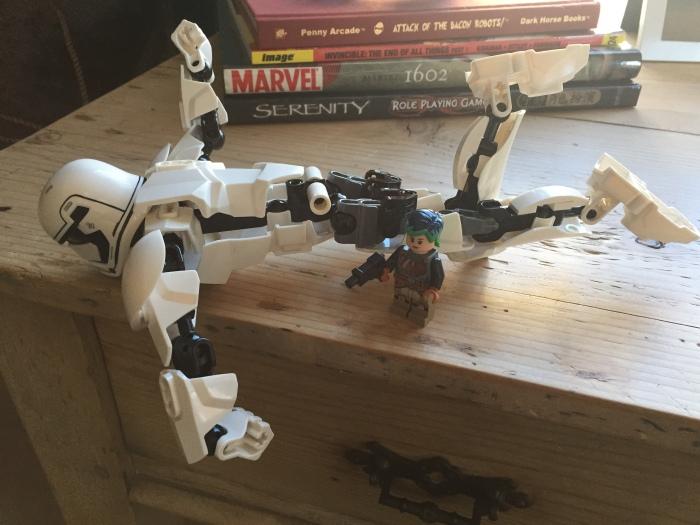 Lego stormtrooper rear