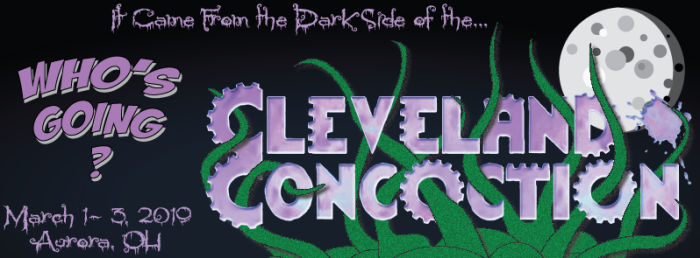 Cleveland ConCoction logo 2019